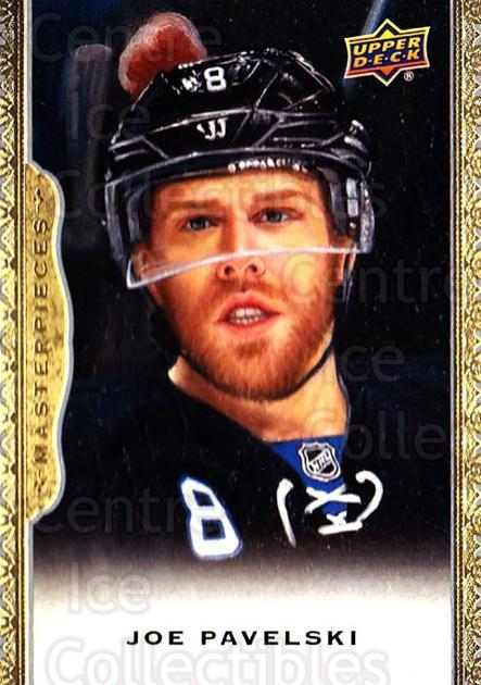 2014-15 UD Masterpieces #135 Joe Pavelski<br/>3 In Stock - $3.00 each - <a href=https://centericecollectibles.foxycart.com/cart?name=2014-15%20UD%20Masterpieces%20%23135%20Joe%20Pavelski...&quantity_max=3&price=$3.00&code=691362 class=foxycart> Buy it now! </a>