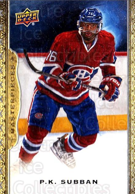 2014-15 UD Masterpieces #141 PK Subban<br/>2 In Stock - $3.00 each - <a href=https://centericecollectibles.foxycart.com/cart?name=2014-15%20UD%20Masterpieces%20%23141%20PK%20Subban...&quantity_max=2&price=$3.00&code=691368 class=foxycart> Buy it now! </a>