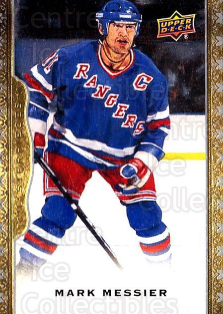 2014-15 UD Masterpieces #144 Mark Messier<br/>2 In Stock - $3.00 each - <a href=https://centericecollectibles.foxycart.com/cart?name=2014-15%20UD%20Masterpieces%20%23144%20Mark%20Messier...&quantity_max=2&price=$3.00&code=691371 class=foxycart> Buy it now! </a>