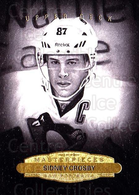 2014-15 UD Masterpieces #154 Sidney Crosby<br/>2 In Stock - $10.00 each - <a href=https://centericecollectibles.foxycart.com/cart?name=2014-15%20UD%20Masterpieces%20%23154%20Sidney%20Crosby...&quantity_max=2&price=$10.00&code=691381 class=foxycart> Buy it now! </a>