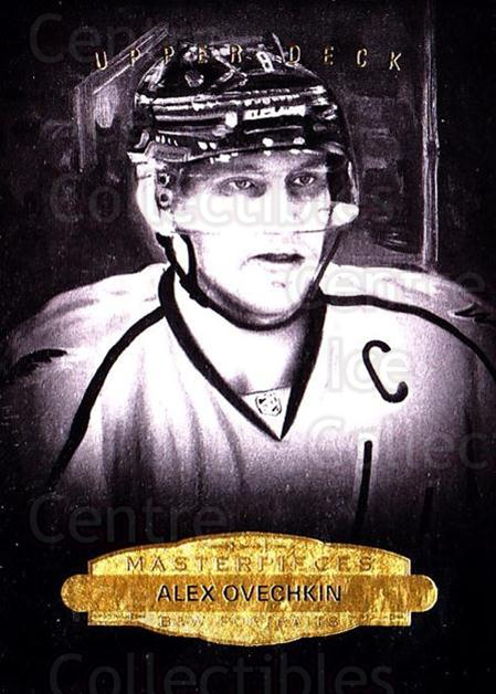2014-15 UD Masterpieces #156 Alexander Ovechkin<br/>1 In Stock - $5.00 each - <a href=https://centericecollectibles.foxycart.com/cart?name=2014-15%20UD%20Masterpieces%20%23156%20Alexander%20Ovech...&price=$5.00&code=691383 class=foxycart> Buy it now! </a>
