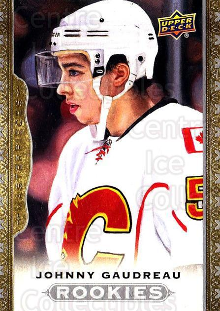 2014-15 UD Masterpieces #170 Johnny Gaudreau<br/>1 In Stock - $10.00 each - <a href=https://centericecollectibles.foxycart.com/cart?name=2014-15%20UD%20Masterpieces%20%23170%20Johnny%20Gaudreau...&quantity_max=1&price=$10.00&code=691397 class=foxycart> Buy it now! </a>