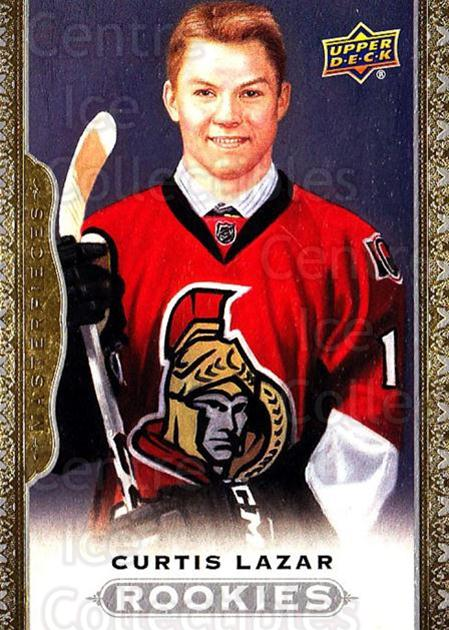 2014-15 UD Masterpieces #175 Curtis Lazar<br/>1 In Stock - $3.00 each - <a href=https://centericecollectibles.foxycart.com/cart?name=2014-15%20UD%20Masterpieces%20%23175%20Curtis%20Lazar...&quantity_max=1&price=$3.00&code=691402 class=foxycart> Buy it now! </a>