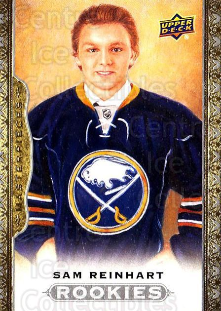 2014-15 UD Masterpieces #179 Sam Reinhart<br/>2 In Stock - $3.00 each - <a href=https://centericecollectibles.foxycart.com/cart?name=2014-15%20UD%20Masterpieces%20%23179%20Sam%20Reinhart...&quantity_max=2&price=$3.00&code=691406 class=foxycart> Buy it now! </a>