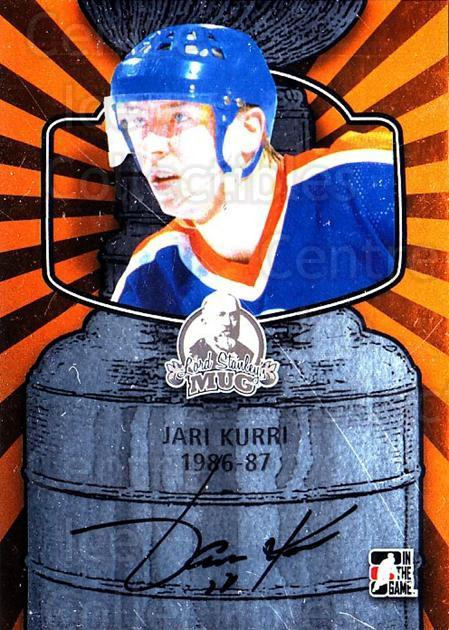 2013-14 ITG Lord Stanley's Mug Auto #AJK3 Jari Kurri<br/>3 In Stock - $20.00 each - <a href=https://centericecollectibles.foxycart.com/cart?name=2013-14%20ITG%20Lord%20Stanley's%20Mug%20Auto%20%23AJK3%20Jari%20Kurri...&quantity_max=3&price=$20.00&code=691969 class=foxycart> Buy it now! </a>