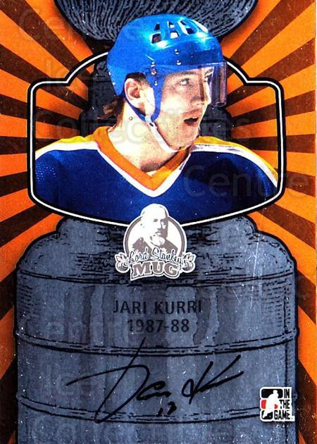 2013-14 ITG Lord Stanley's Mug Auto #AJK4 Jari Kurri<br/>1 In Stock - $20.00 each - <a href=https://centericecollectibles.foxycart.com/cart?name=2013-14%20ITG%20Lord%20Stanley's%20Mug%20Auto%20%23AJK4%20Jari%20Kurri...&quantity_max=1&price=$20.00&code=691970 class=foxycart> Buy it now! </a>
