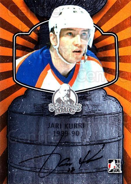 2013-14 ITG Lord Stanley's Mug Auto #AJK5 Jari Kurri<br/>1 In Stock - $20.00 each - <a href=https://centericecollectibles.foxycart.com/cart?name=2013-14%20ITG%20Lord%20Stanley's%20Mug%20Auto%20%23AJK5%20Jari%20Kurri...&quantity_max=1&price=$20.00&code=691971 class=foxycart> Buy it now! </a>
