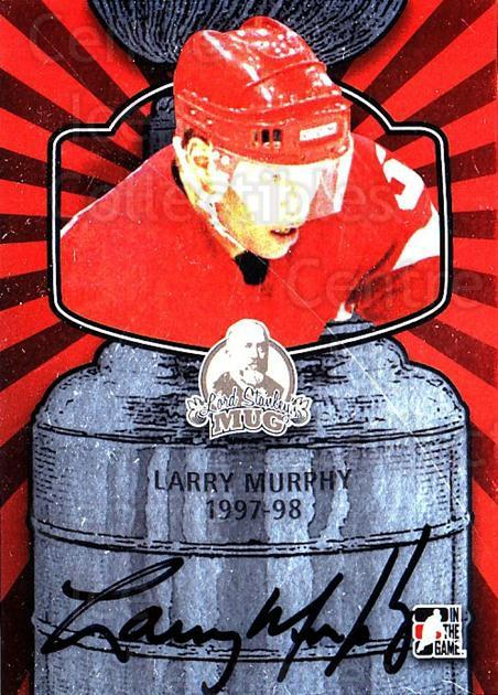 2013-14 ITG Lord Stanley's Mug Auto #ALM4 Larry Murphy<br/>2 In Stock - $15.00 each - <a href=https://centericecollectibles.foxycart.com/cart?name=2013-14%20ITG%20Lord%20Stanley's%20Mug%20Auto%20%23ALM4%20Larry%20Murphy...&quantity_max=2&price=$15.00&code=692002 class=foxycart> Buy it now! </a>