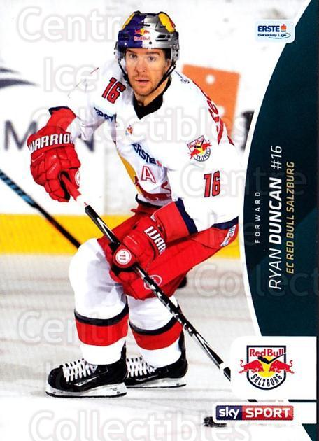 2016-17 Erste Bank Eishockey Liga EBEL #12 Ryan Duncan<br/>4 In Stock - $2.00 each - <a href=https://centericecollectibles.foxycart.com/cart?name=2016-17%20Erste%20Bank%20Eishockey%20Liga%20EBEL%20%2312%20Ryan%20Duncan...&quantity_max=4&price=$2.00&code=692114 class=foxycart> Buy it now! </a>