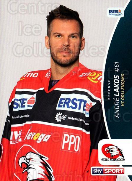 2016-17 Erste Bank Eishockey Liga EBEL #28 Andre Lakos<br/>3 In Stock - $2.00 each - <a href=https://centericecollectibles.foxycart.com/cart?name=2016-17%20Erste%20Bank%20Eishockey%20Liga%20EBEL%20%2328%20Andre%20Lakos...&quantity_max=3&price=$2.00&code=692130 class=foxycart> Buy it now! </a>