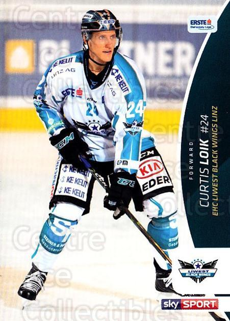 2016-17 Erste Bank Eishockey Liga EBEL #38 Curtis Loik<br/>3 In Stock - $2.00 each - <a href=https://centericecollectibles.foxycart.com/cart?name=2016-17%20Erste%20Bank%20Eishockey%20Liga%20EBEL%20%2338%20Curtis%20Loik...&quantity_max=3&price=$2.00&code=692140 class=foxycart> Buy it now! </a>