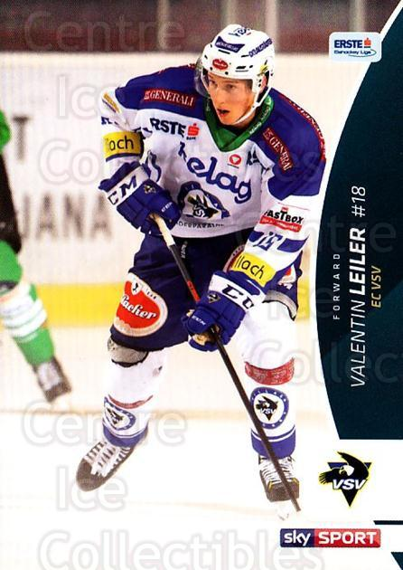 2016-17 Erste Bank Eishockey Liga EBEL #54 Valentin Leiler<br/>4 In Stock - $2.00 each - <a href=https://centericecollectibles.foxycart.com/cart?name=2016-17%20Erste%20Bank%20Eishockey%20Liga%20EBEL%20%2354%20Valentin%20Leiler...&quantity_max=4&price=$2.00&code=692156 class=foxycart> Buy it now! </a>
