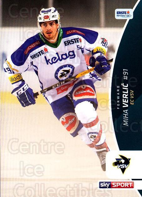 2016-17 Erste Bank Eishockey Liga EBEL #55 Miha Verlic<br/>3 In Stock - $2.00 each - <a href=https://centericecollectibles.foxycart.com/cart?name=2016-17%20Erste%20Bank%20Eishockey%20Liga%20EBEL%20%2355%20Miha%20Verlic...&quantity_max=3&price=$2.00&code=692157 class=foxycart> Buy it now! </a>