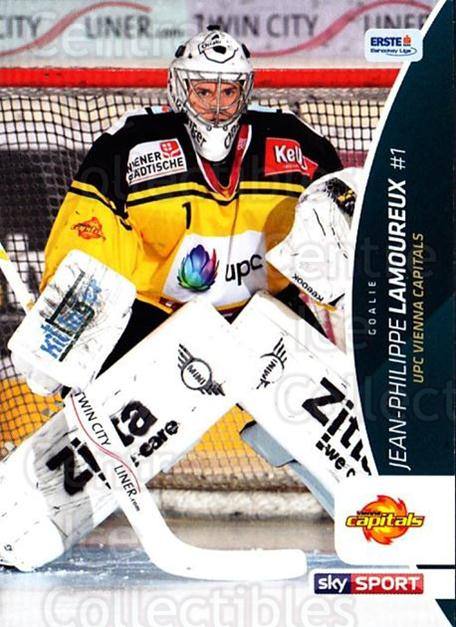 2016-17 Erste Bank Eishockey Liga EBEL #57 Jean-Philippe Lamoureux<br/>2 In Stock - $2.00 each - <a href=https://centericecollectibles.foxycart.com/cart?name=2016-17%20Erste%20Bank%20Eishockey%20Liga%20EBEL%20%2357%20Jean-Philippe%20L...&quantity_max=2&price=$2.00&code=692159 class=foxycart> Buy it now! </a>