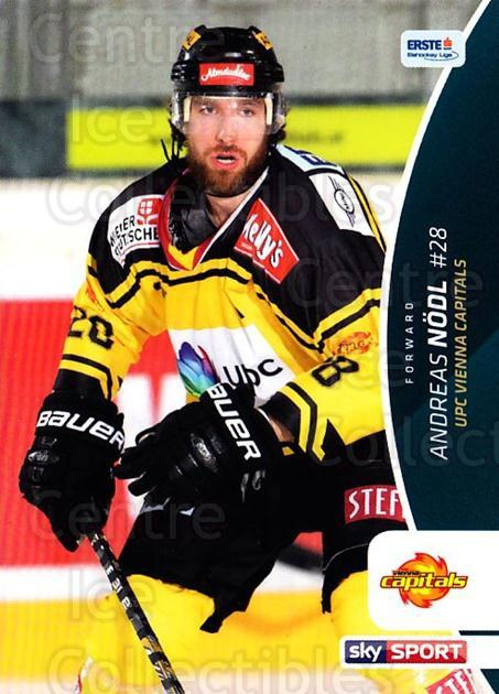 2016-17 Erste Bank Eishockey Liga EBEL #65 Andreas Nodl<br/>2 In Stock - $2.00 each - <a href=https://centericecollectibles.foxycart.com/cart?name=2016-17%20Erste%20Bank%20Eishockey%20Liga%20EBEL%20%2365%20Andreas%20Nodl...&quantity_max=2&price=$2.00&code=692167 class=foxycart> Buy it now! </a>
