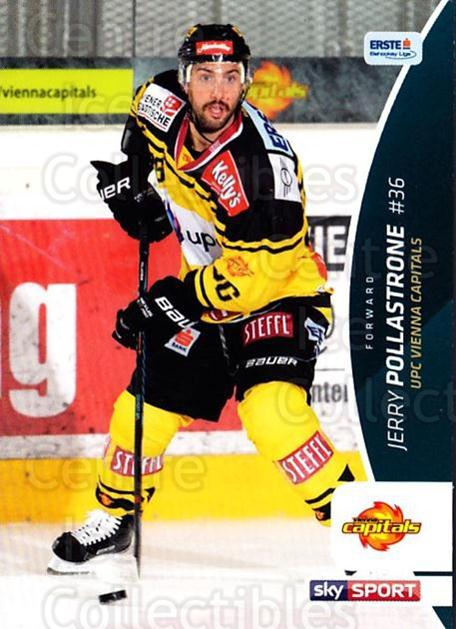 2016-17 Erste Bank Eishockey Liga EBEL #66 Jerry Pollastrone<br/>4 In Stock - $2.00 each - <a href=https://centericecollectibles.foxycart.com/cart?name=2016-17%20Erste%20Bank%20Eishockey%20Liga%20EBEL%20%2366%20Jerry%20Pollastro...&quantity_max=4&price=$2.00&code=692168 class=foxycart> Buy it now! </a>