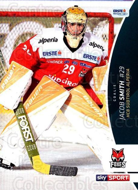 2016-17 Erste Bank Eishockey Liga EBEL #71 Jacob Smith<br/>3 In Stock - $2.00 each - <a href=https://centericecollectibles.foxycart.com/cart?name=2016-17%20Erste%20Bank%20Eishockey%20Liga%20EBEL%20%2371%20Jacob%20Smith...&quantity_max=3&price=$2.00&code=692173 class=foxycart> Buy it now! </a>