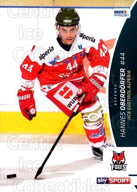 2016-17 Erste Bank Eishockey Liga EBEL #74 Hannes Oberdorfer<br/>4 In Stock - $2.00 each - <a href=https://centericecollectibles.foxycart.com/cart?name=2016-17%20Erste%20Bank%20Eishockey%20Liga%20EBEL%20%2374%20Hannes%20Oberdorf...&quantity_max=4&price=$2.00&code=692176 class=foxycart> Buy it now! </a>