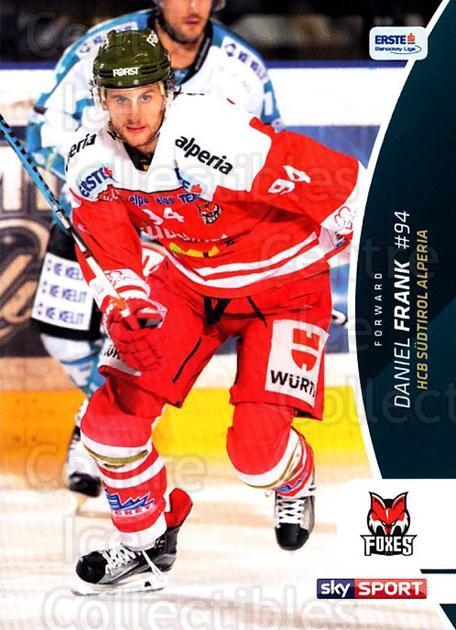2016-17 Erste Bank Eishockey Liga EBEL #76 Daniel Frank<br/>3 In Stock - $2.00 each - <a href=https://centericecollectibles.foxycart.com/cart?name=2016-17%20Erste%20Bank%20Eishockey%20Liga%20EBEL%20%2376%20Daniel%20Frank...&quantity_max=3&price=$2.00&code=692178 class=foxycart> Buy it now! </a>