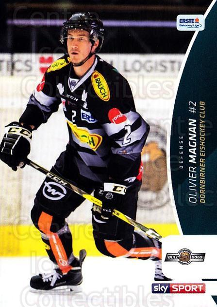 2016-17 Erste Bank Eishockey Liga EBEL #86 Olivier Magnan<br/>3 In Stock - $2.00 each - <a href=https://centericecollectibles.foxycart.com/cart?name=2016-17%20Erste%20Bank%20Eishockey%20Liga%20EBEL%20%2386%20Olivier%20Magnan...&quantity_max=3&price=$2.00&code=692188 class=foxycart> Buy it now! </a>