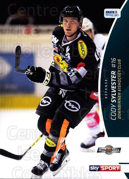 2016-17 Erste Bank Eishockey Liga EBEL #89 Cody Sylvester<br/>3 In Stock - $2.00 each - <a href=https://centericecollectibles.foxycart.com/cart?name=2016-17%20Erste%20Bank%20Eishockey%20Liga%20EBEL%20%2389%20Cody%20Sylvester...&quantity_max=3&price=$2.00&code=692191 class=foxycart> Buy it now! </a>