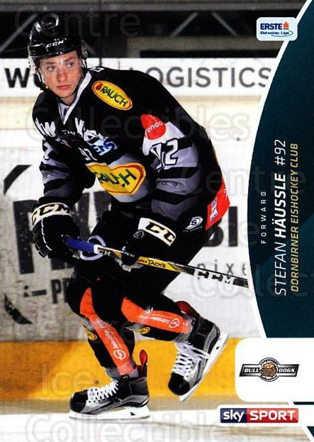 2016-17 Erste Bank Eishockey Liga EBEL #91 Stefan Haussle<br/>4 In Stock - $2.00 each - <a href=https://centericecollectibles.foxycart.com/cart?name=2016-17%20Erste%20Bank%20Eishockey%20Liga%20EBEL%20%2391%20Stefan%20Haussle...&quantity_max=4&price=$2.00&code=692193 class=foxycart> Buy it now! </a>
