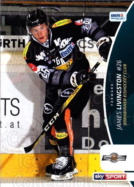 2016-17 Erste Bank Eishockey Liga EBEL #96 James Livingston<br/>1 In Stock - $2.00 each - <a href=https://centericecollectibles.foxycart.com/cart?name=2016-17%20Erste%20Bank%20Eishockey%20Liga%20EBEL%20%2396%20James%20Livingsto...&price=$2.00&code=692198 class=foxycart> Buy it now! </a>