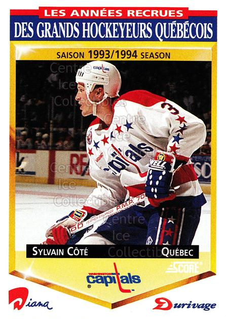 1993-94 Durivage Score #35 Sylvain Cote<br/>22 In Stock - $2.00 each - <a href=https://centericecollectibles.foxycart.com/cart?name=1993-94%20Durivage%20Score%20%2335%20Sylvain%20Cote...&quantity_max=22&price=$2.00&code=6921 class=foxycart> Buy it now! </a>