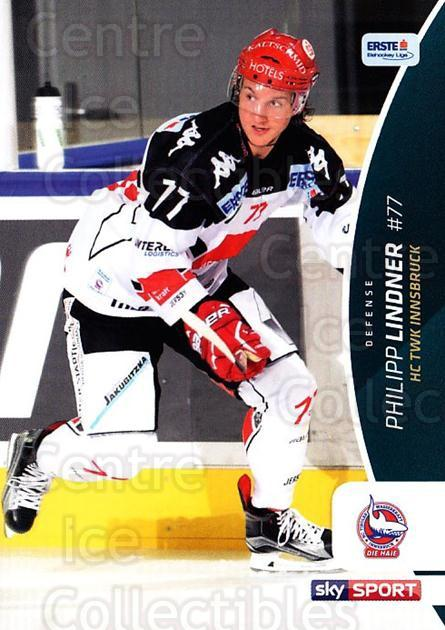 2016-17 Erste Bank Eishockey Liga EBEL #117 Philipp Lindner<br/>4 In Stock - $2.00 each - <a href=https://centericecollectibles.foxycart.com/cart?name=2016-17%20Erste%20Bank%20Eishockey%20Liga%20EBEL%20%23117%20Philipp%20Lindner...&quantity_max=4&price=$2.00&code=692219 class=foxycart> Buy it now! </a>