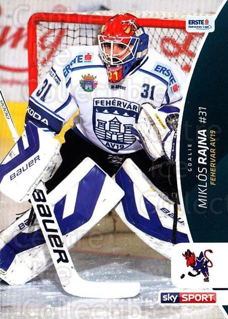 2016-17 Erste Bank Eishockey Liga EBEL #127 Miklos Rajna<br/>3 In Stock - $2.00 each - <a href=https://centericecollectibles.foxycart.com/cart?name=2016-17%20Erste%20Bank%20Eishockey%20Liga%20EBEL%20%23127%20Miklos%20Rajna...&quantity_max=3&price=$2.00&code=692229 class=foxycart> Buy it now! </a>
