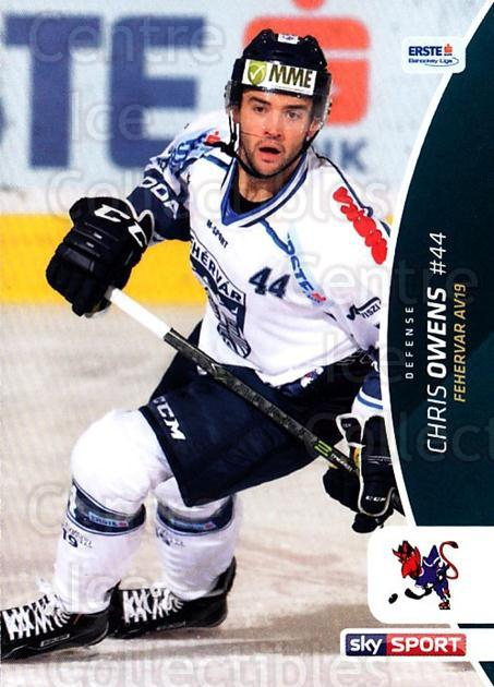 2016-17 Erste Bank Eishockey Liga EBEL #130 Chris Owens<br/>2 In Stock - $2.00 each - <a href=https://centericecollectibles.foxycart.com/cart?name=2016-17%20Erste%20Bank%20Eishockey%20Liga%20EBEL%20%23130%20Chris%20Owens...&quantity_max=2&price=$2.00&code=692232 class=foxycart> Buy it now! </a>