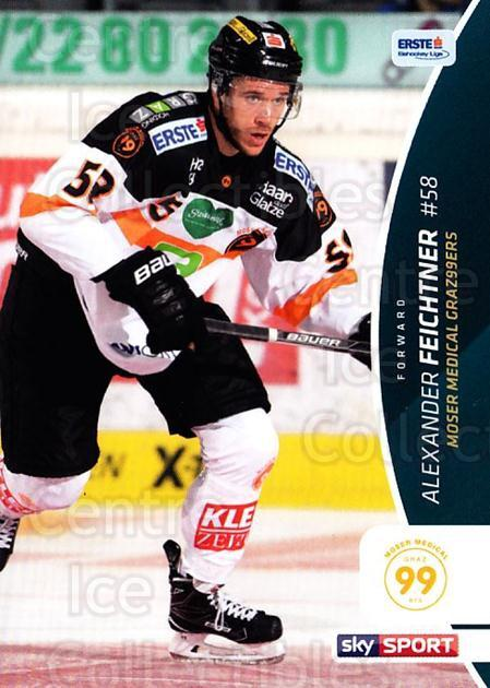 2016-17 Erste Bank Eishockey Liga EBEL #149 Alexander Feichtner<br/>4 In Stock - $2.00 each - <a href=https://centericecollectibles.foxycart.com/cart?name=2016-17%20Erste%20Bank%20Eishockey%20Liga%20EBEL%20%23149%20Alexander%20Feich...&price=$2.00&code=692251 class=foxycart> Buy it now! </a>