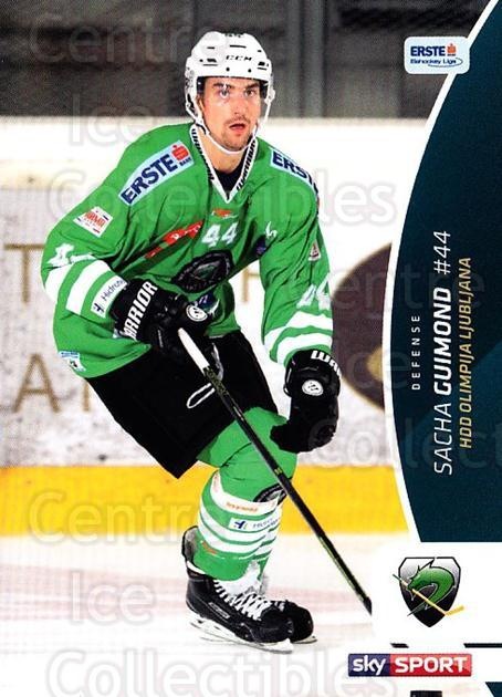 2016-17 Erste Bank Eishockey Liga EBEL #159 Sacha Guimond<br/>4 In Stock - $2.00 each - <a href=https://centericecollectibles.foxycart.com/cart?name=2016-17%20Erste%20Bank%20Eishockey%20Liga%20EBEL%20%23159%20Sacha%20Guimond...&quantity_max=4&price=$2.00&code=692261 class=foxycart> Buy it now! </a>