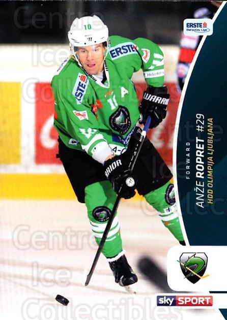 2016-17 Erste Bank Eishockey Liga EBEL #162 Anze Ropret<br/>4 In Stock - $2.00 each - <a href=https://centericecollectibles.foxycart.com/cart?name=2016-17%20Erste%20Bank%20Eishockey%20Liga%20EBEL%20%23162%20Anze%20Ropret...&quantity_max=4&price=$2.00&code=692264 class=foxycart> Buy it now! </a>