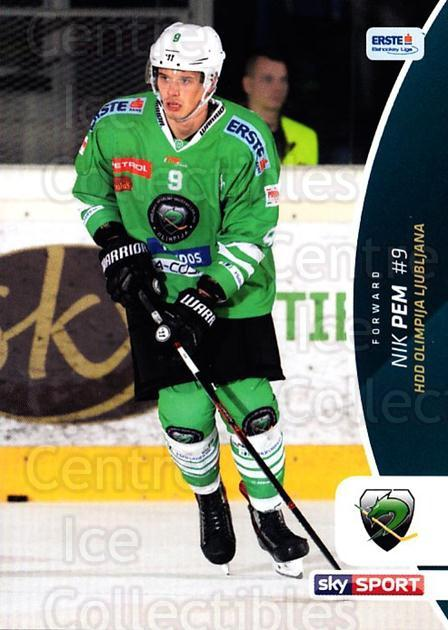 2016-17 Erste Bank Eishockey Liga EBEL #167 Nik Pem<br/>3 In Stock - $2.00 each - <a href=https://centericecollectibles.foxycart.com/cart?name=2016-17%20Erste%20Bank%20Eishockey%20Liga%20EBEL%20%23167%20Nik%20Pem...&quantity_max=3&price=$2.00&code=692269 class=foxycart> Buy it now! </a>
