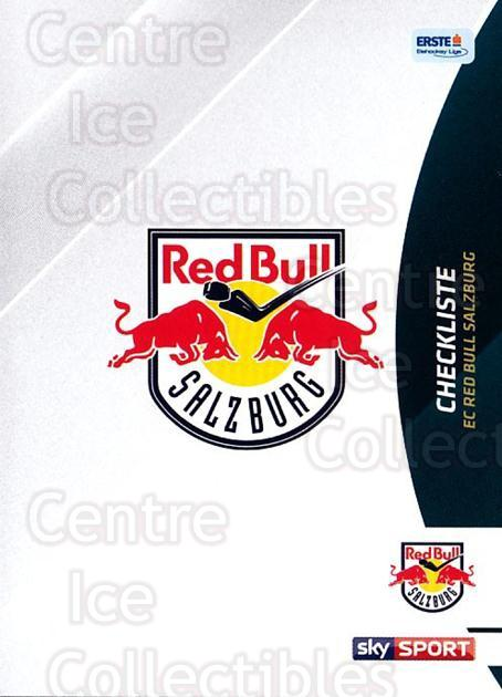 2016-17 Erste Bank Eishockey Liga EBEL #215 Checklist<br/>3 In Stock - $2.00 each - <a href=https://centericecollectibles.foxycart.com/cart?name=2016-17%20Erste%20Bank%20Eishockey%20Liga%20EBEL%20%23215%20Checklist...&quantity_max=3&price=$2.00&code=692317 class=foxycart> Buy it now! </a>