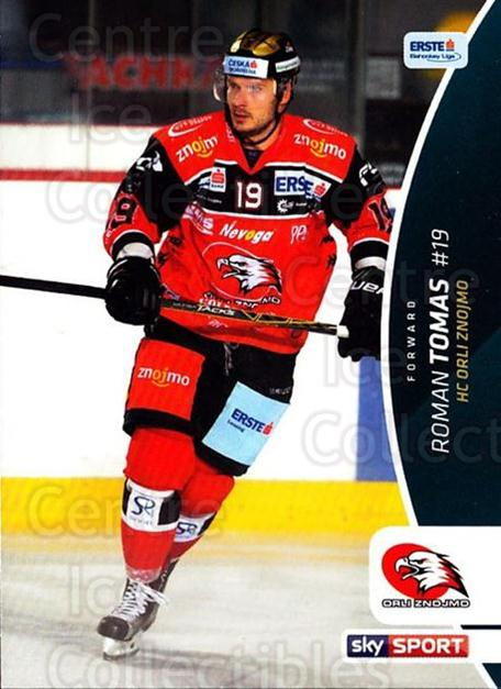 2016-17 Erste Bank Eishockey Liga EBEL #216 Roman Tomas<br/>2 In Stock - $2.00 each - <a href=https://centericecollectibles.foxycart.com/cart?name=2016-17%20Erste%20Bank%20Eishockey%20Liga%20EBEL%20%23216%20Roman%20Tomas...&quantity_max=2&price=$2.00&code=692318 class=foxycart> Buy it now! </a>