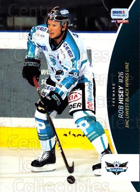 2016-17 Erste Bank Eishockey Liga EBEL #243 Rob Hisey<br/>4 In Stock - $2.00 each - <a href=https://centericecollectibles.foxycart.com/cart?name=2016-17%20Erste%20Bank%20Eishockey%20Liga%20EBEL%20%23243%20Rob%20Hisey...&quantity_max=4&price=$2.00&code=692345 class=foxycart> Buy it now! </a>