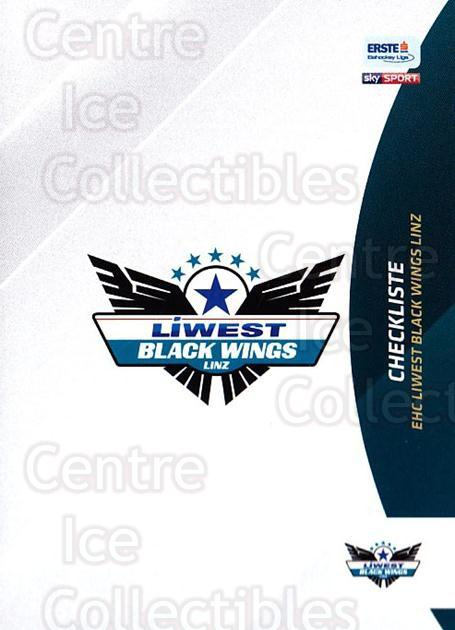 2016-17 Erste Bank Eishockey Liga EBEL #247 Checklist<br/>4 In Stock - $2.00 each - <a href=https://centericecollectibles.foxycart.com/cart?name=2016-17%20Erste%20Bank%20Eishockey%20Liga%20EBEL%20%23247%20Checklist...&quantity_max=4&price=$2.00&code=692349 class=foxycart> Buy it now! </a>