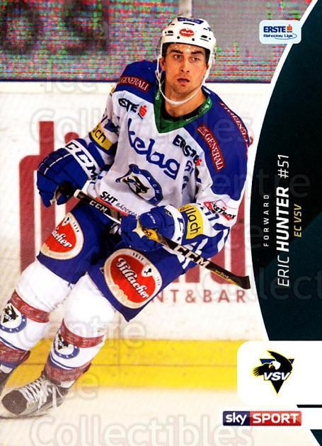 2016-17 Erste Bank Eishockey Liga EBEL #252 Eric Hunter<br/>1 In Stock - $2.00 each - <a href=https://centericecollectibles.foxycart.com/cart?name=2016-17%20Erste%20Bank%20Eishockey%20Liga%20EBEL%20%23252%20Eric%20Hunter...&quantity_max=1&price=$2.00&code=692354 class=foxycart> Buy it now! </a>