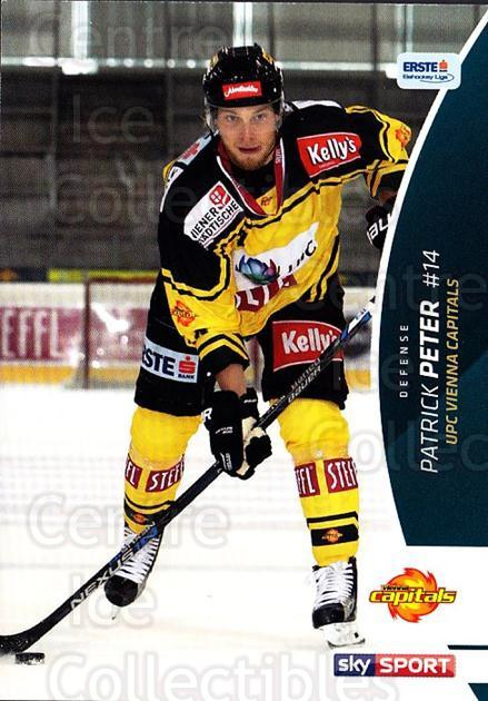 2016-17 Erste Bank Eishockey Liga EBEL #270 Patrick Peter<br/>4 In Stock - $2.00 each - <a href=https://centericecollectibles.foxycart.com/cart?name=2016-17%20Erste%20Bank%20Eishockey%20Liga%20EBEL%20%23270%20Patrick%20Peter...&quantity_max=4&price=$2.00&code=692372 class=foxycart> Buy it now! </a>