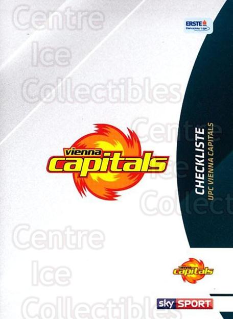 2016-17 Erste Bank Eishockey Liga EBEL #275 Checklist<br/>4 In Stock - $2.00 each - <a href=https://centericecollectibles.foxycart.com/cart?name=2016-17%20Erste%20Bank%20Eishockey%20Liga%20EBEL%20%23275%20Checklist...&quantity_max=4&price=$2.00&code=692377 class=foxycart> Buy it now! </a>