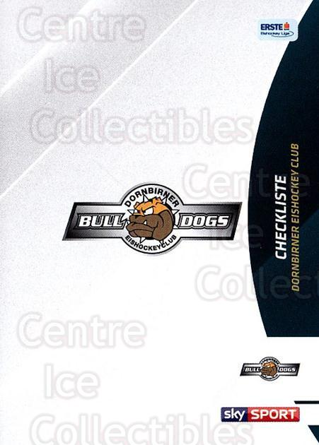 2016-17 Erste Bank Eishockey Liga EBEL #297 Checklist<br/>4 In Stock - $2.00 each - <a href=https://centericecollectibles.foxycart.com/cart?name=2016-17%20Erste%20Bank%20Eishockey%20Liga%20EBEL%20%23297%20Checklist...&quantity_max=4&price=$2.00&code=692399 class=foxycart> Buy it now! </a>