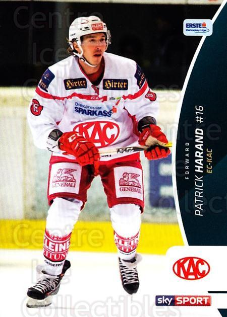 2016-17 Erste Bank Eishockey Liga EBEL #304 Patrick Harand<br/>3 In Stock - $2.00 each - <a href=https://centericecollectibles.foxycart.com/cart?name=2016-17%20Erste%20Bank%20Eishockey%20Liga%20EBEL%20%23304%20Patrick%20Harand...&quantity_max=3&price=$2.00&code=692406 class=foxycart> Buy it now! </a>