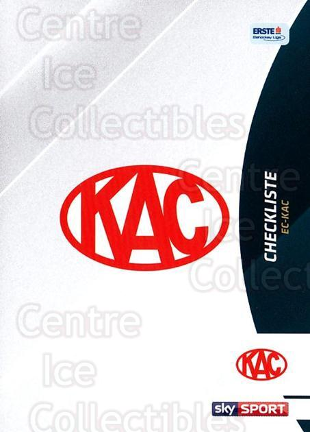 2016-17 Erste Bank Eishockey Liga EBEL #311 Checklist<br/>3 In Stock - $2.00 each - <a href=https://centericecollectibles.foxycart.com/cart?name=2016-17%20Erste%20Bank%20Eishockey%20Liga%20EBEL%20%23311%20Checklist...&quantity_max=3&price=$2.00&code=692413 class=foxycart> Buy it now! </a>