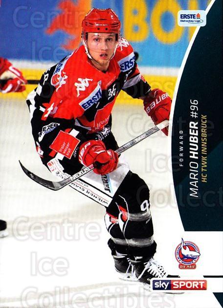 2016-17 Erste Bank Eishockey Liga EBEL #322 Mario Huber<br/>4 In Stock - $2.00 each - <a href=https://centericecollectibles.foxycart.com/cart?name=2016-17%20Erste%20Bank%20Eishockey%20Liga%20EBEL%20%23322%20Mario%20Huber...&quantity_max=4&price=$2.00&code=692424 class=foxycart> Buy it now! </a>