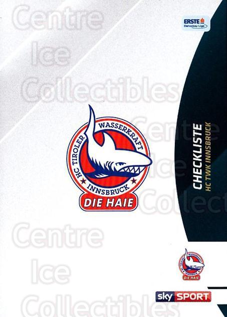 2016-17 Erste Bank Eishockey Liga EBEL #325 Checklist<br/>4 In Stock - $2.00 each - <a href=https://centericecollectibles.foxycart.com/cart?name=2016-17%20Erste%20Bank%20Eishockey%20Liga%20EBEL%20%23325%20Checklist...&quantity_max=4&price=$2.00&code=692427 class=foxycart> Buy it now! </a>