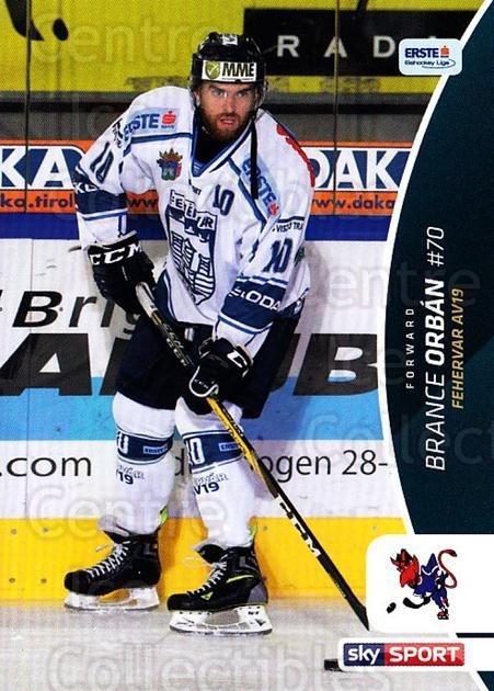 2016-17 Erste Bank Eishockey Liga EBEL #332 Brance Orban<br/>4 In Stock - $2.00 each - <a href=https://centericecollectibles.foxycart.com/cart?name=2016-17%20Erste%20Bank%20Eishockey%20Liga%20EBEL%20%23332%20Brance%20Orban...&quantity_max=4&price=$2.00&code=692434 class=foxycart> Buy it now! </a>