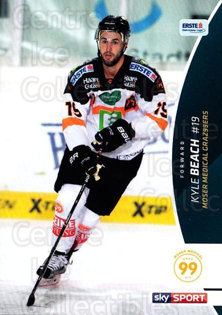 2016-17 Erste Bank Eishockey Liga EBEL #347 Kyle Beach<br/>3 In Stock - $2.00 each - <a href=https://centericecollectibles.foxycart.com/cart?name=2016-17%20Erste%20Bank%20Eishockey%20Liga%20EBEL%20%23347%20Kyle%20Beach...&quantity_max=3&price=$2.00&code=692449 class=foxycart> Buy it now! </a>