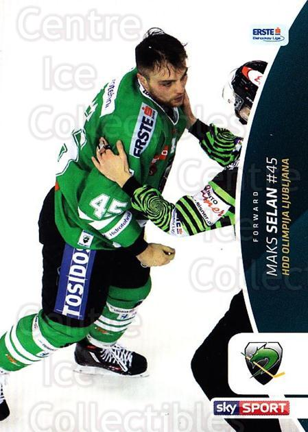 2016-17 Erste Bank Eishockey Liga EBEL #363 Maks Selan<br/>4 In Stock - $2.00 each - <a href=https://centericecollectibles.foxycart.com/cart?name=2016-17%20Erste%20Bank%20Eishockey%20Liga%20EBEL%20%23363%20Maks%20Selan...&quantity_max=4&price=$2.00&code=692465 class=foxycart> Buy it now! </a>
